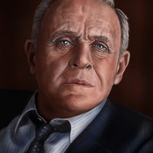 Anthony Hopkins - Portrait