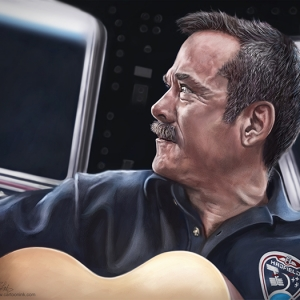 Chris Hadfield - Portrait