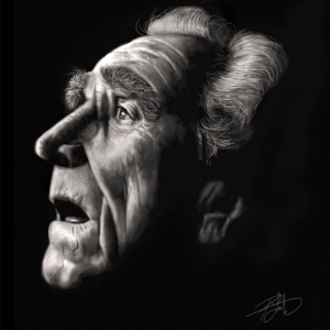 James Whitmore - Portrait