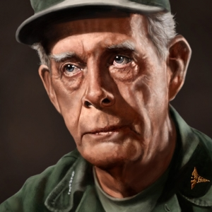 Colonel Sherman T. Potter - Portrait