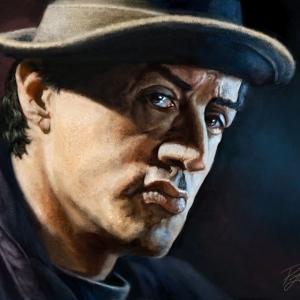 Rocky Balboa - Portrait